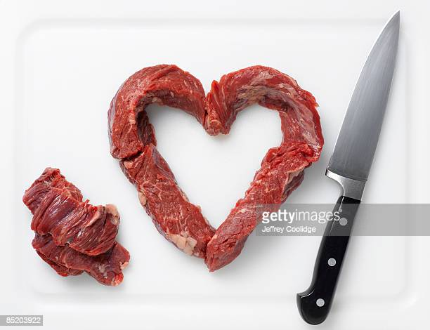 Beef in Shape of Heart