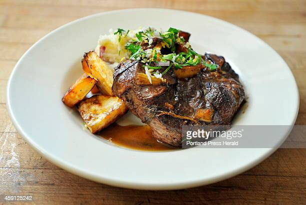 NOVEMBER 13 Beef Osso Bucco a special of the night at The Good Table in Cape Elizabeth is made from red wine braised beef osso bucco served with...