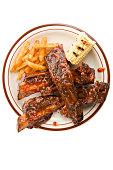 Beef Rib Dinner