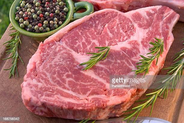 Bifteck de faux-filet de bœuf