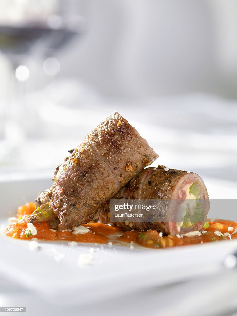 Beef Roulade : Stock Photo