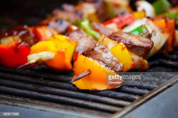 Rindfleisch Shish-Kebab.