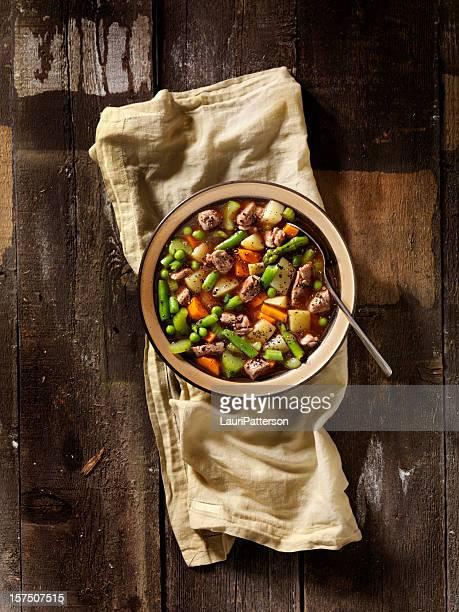 Boeuf Soupe de légumes