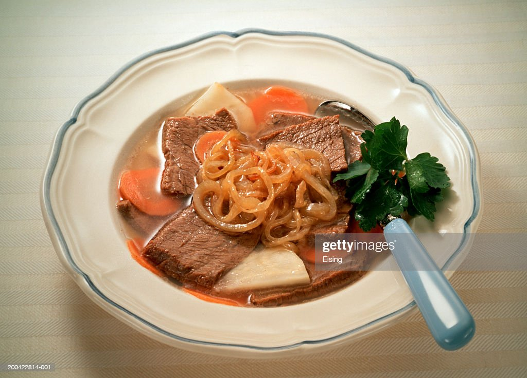 Beef-Vegetable Stew : Stock Photo