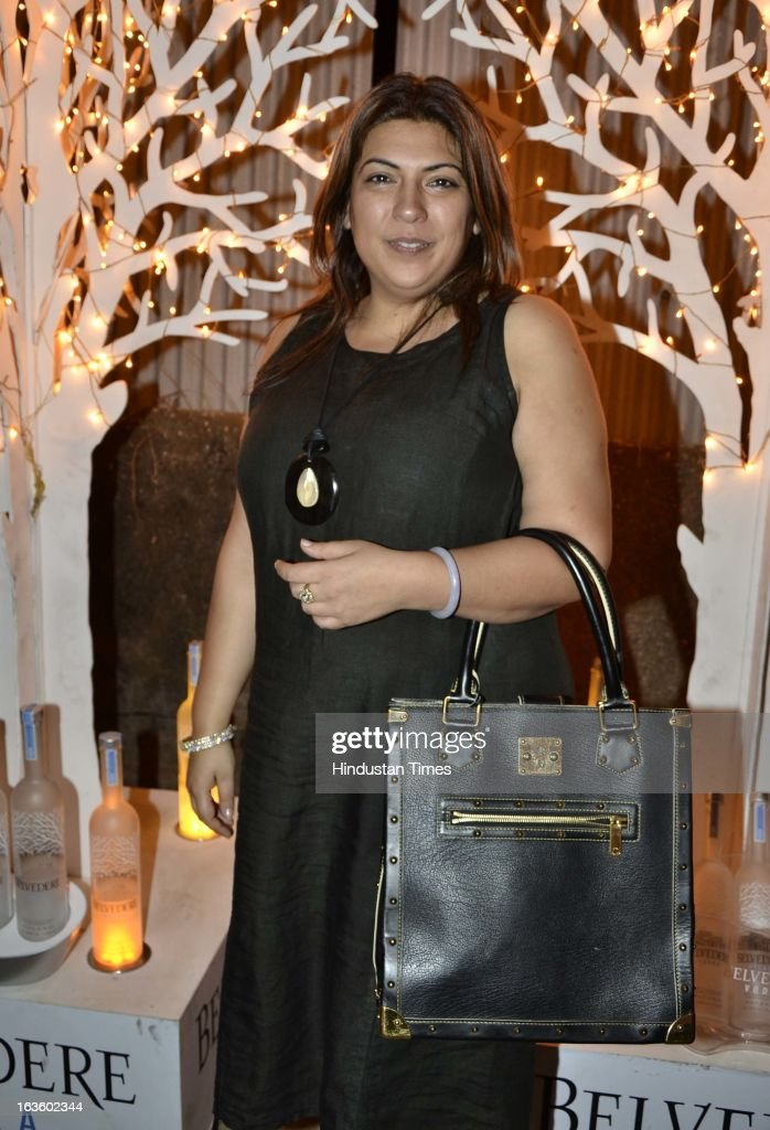 Beenu Bawa at Special preview of Otlo Design project hosted by Belvedere Vodka at Bhavishyavani Backyard, Bandra on March 11, 2013 in Mumbai, India.