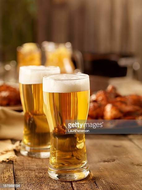 Beer and BBQ Chicken