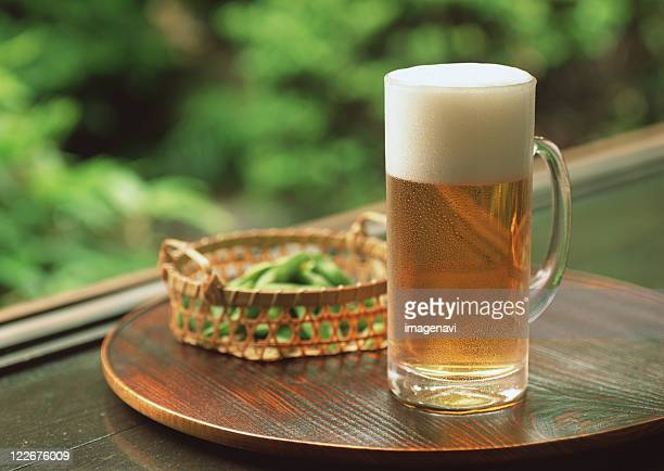 Beer and Green Soybean