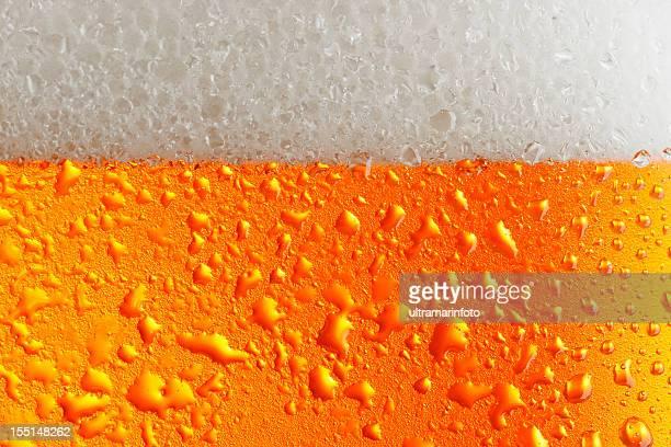 Bière en arrière-plan