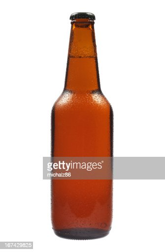 Beer Bottle and drops : Stock Photo
