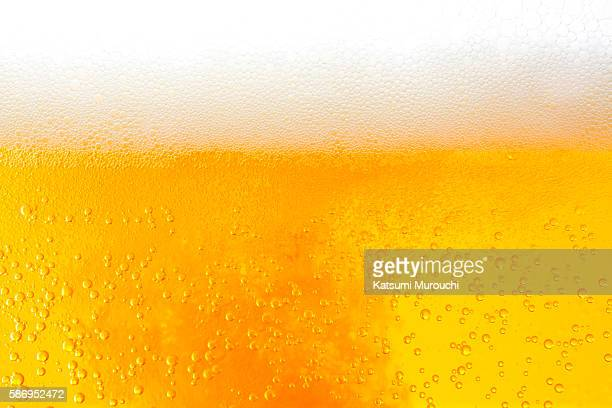 Beer close-up background