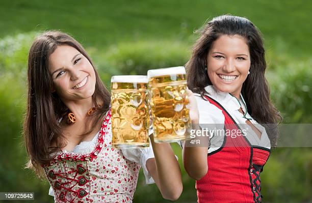 Beer Festival in traditional Tracht Fashion, Dirndl (XXXL)