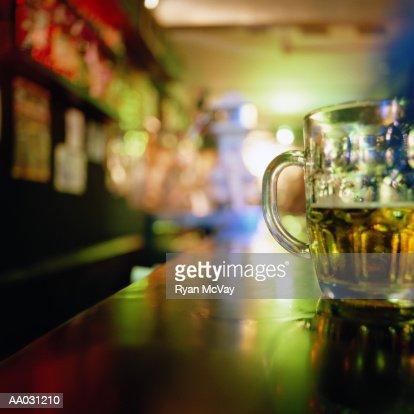 Beer Glass : Stock Photo