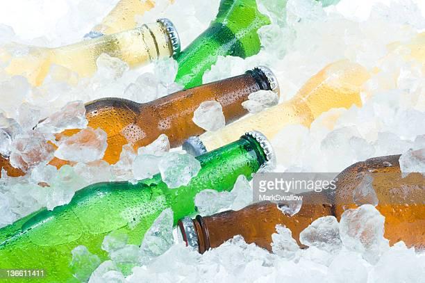 Cerveza en el hielo