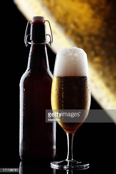 Bottiglia di vetro di birra Pils con molla di bloccaggio