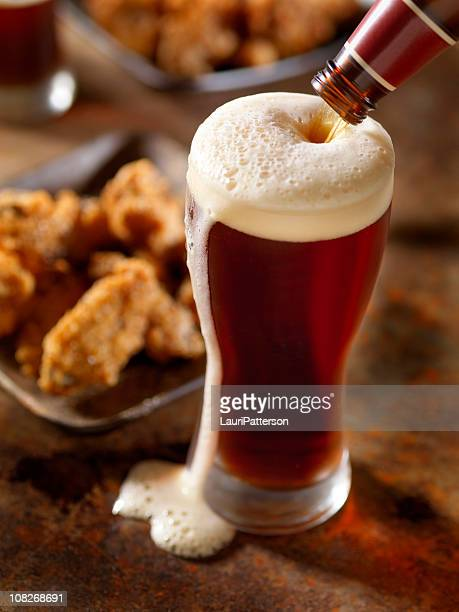 Beer Pouring with Wings