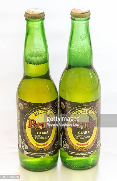 Beer produced in Cuba Bruja beer produced in Manacas Villa Clara Cuba It is one of the cheapest beers brewed at 45% alcohol Cuba is famous for its...
