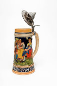 Beer Stein with White Background