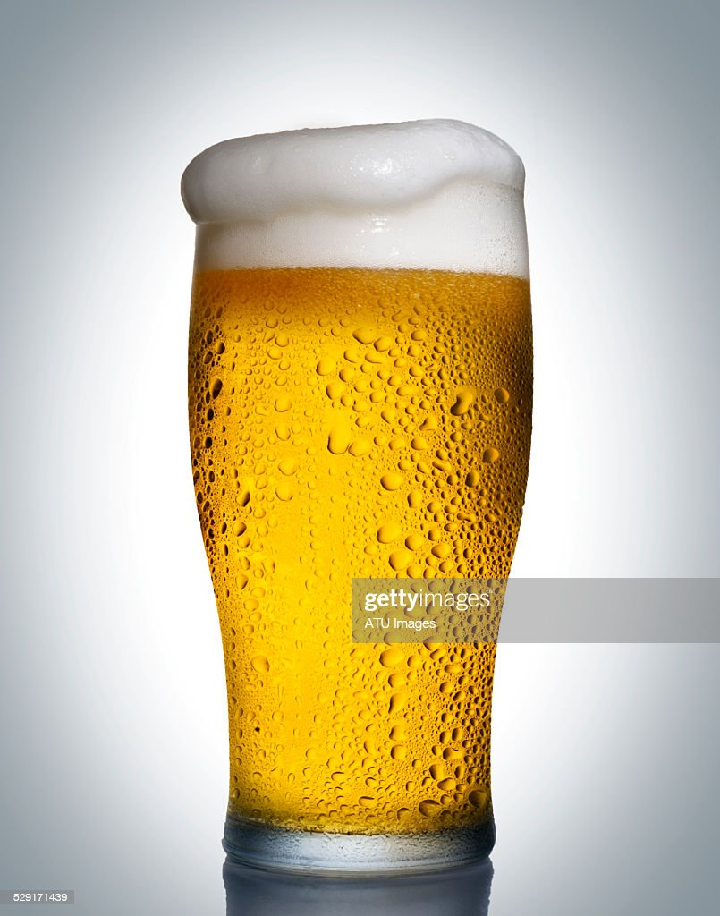 Beer with drops