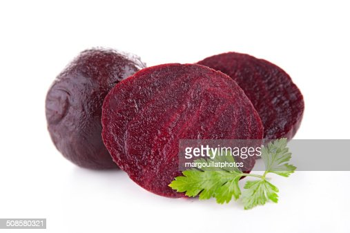 beet isolated : Stock Photo