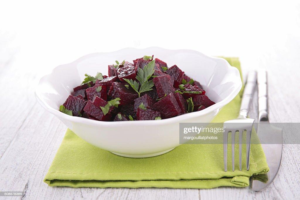 beet salad : Stockfoto