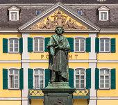Beethoven Monument on Munsterplatz in Bonn