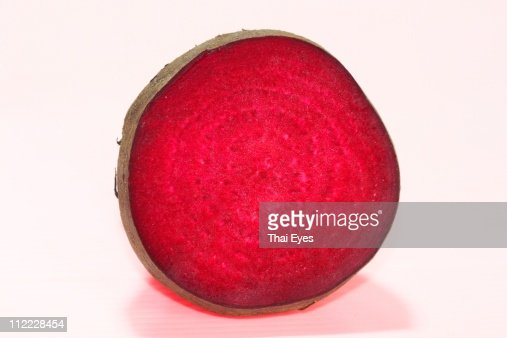 Beetroot Profile : Stock Photo
