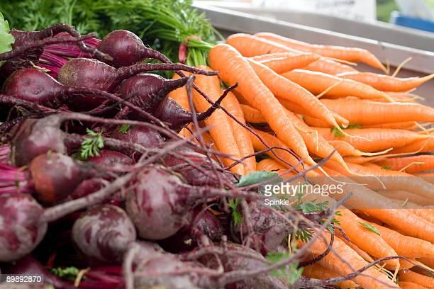 Betterave et les carottes