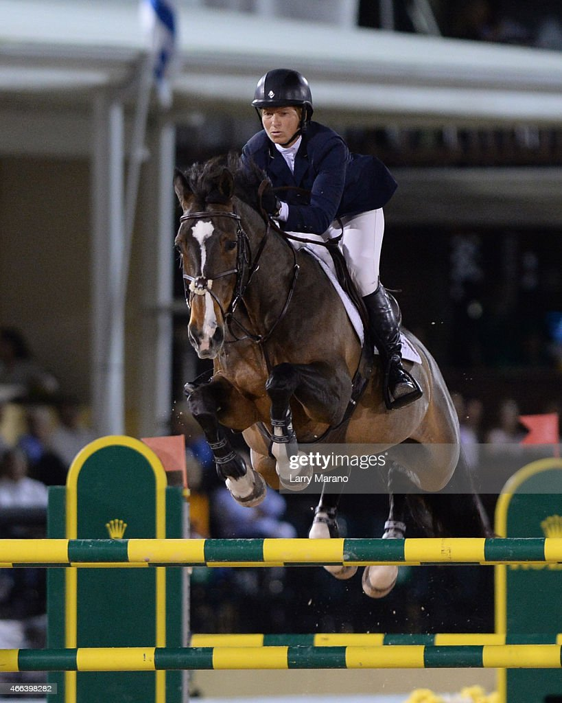 <a gi-track='captionPersonalityLinkClicked' href=/galleries/search?phrase=Beezie+Madden&family=editorial&specificpeople=628976 ng-click='$event.stopPropagation()'>Beezie Madden</a> participates In the Palm Beach International Equestrian Center Events at Palm Beach International Equestrian Center on March 14, 2015 in Wellington, Florida.