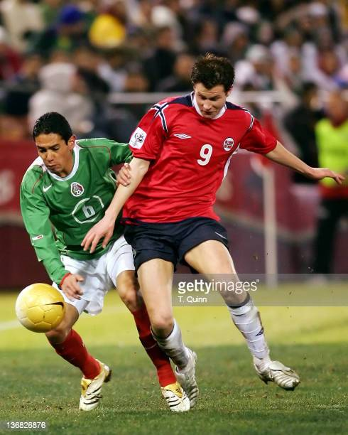 Before a partizan crowd of over 45000 in Monster Park San Francisco on January 25 2006 the Mexican World Cup national team defeated Norway 21 Oscar...