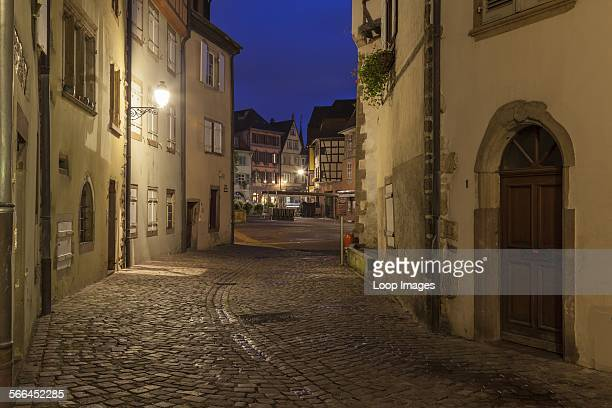Before dawn in Colmar old town