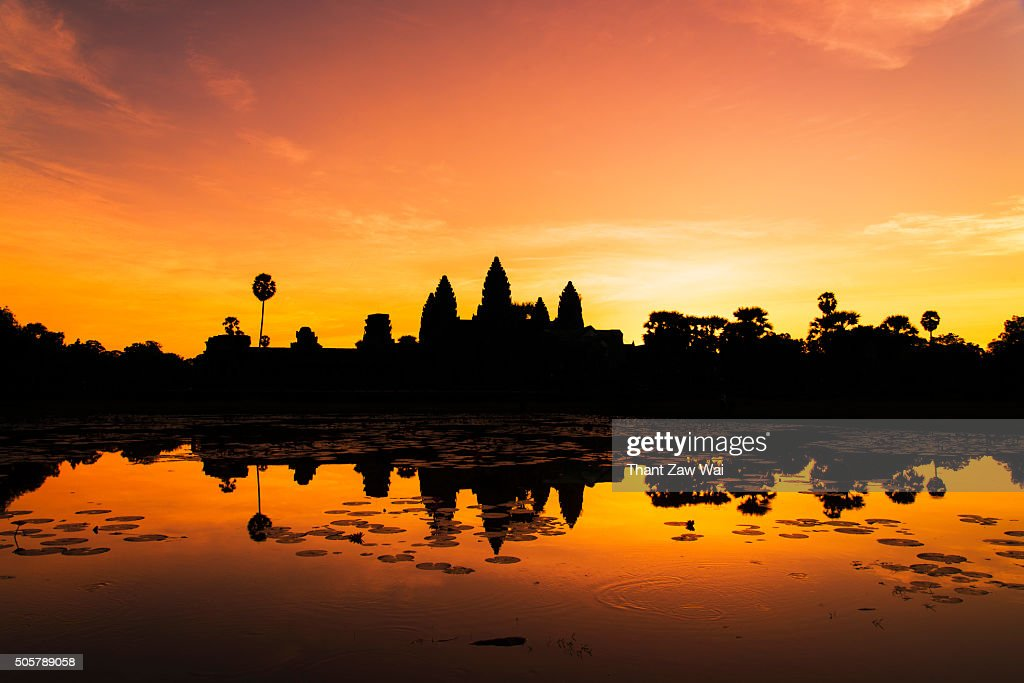 Before Sunrise at Angkor Wat, Siem Reap