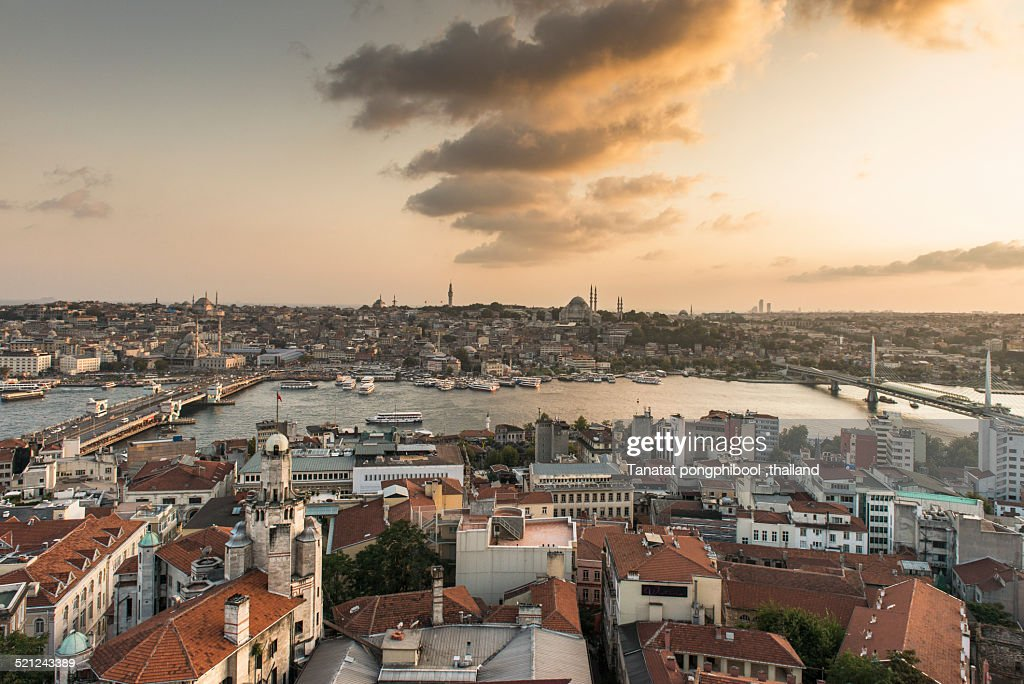 Before Sunset in Istanbul, Turkey