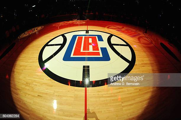 Before the game between the New Orleans Pelicans and the Los Angeles Clippers on January 10 2016 at STAPLES Center in Los Angeles California NOTE TO...