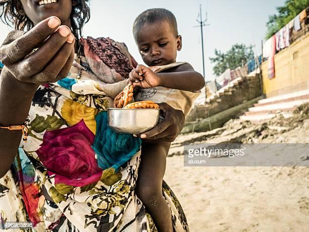Beggar in Varanasi India