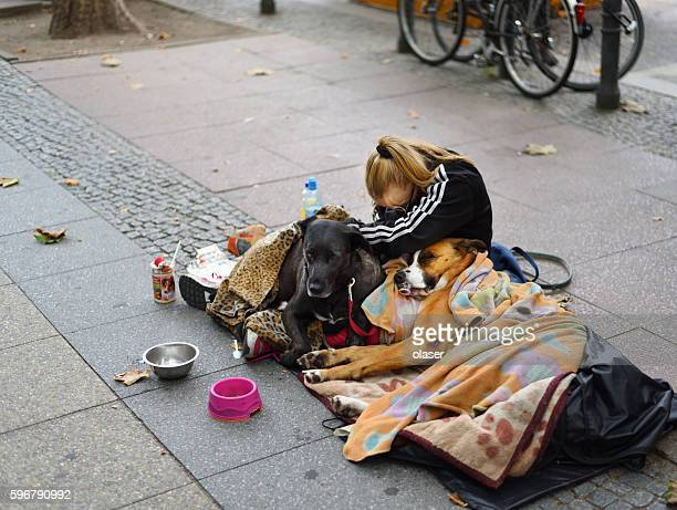 Beggar/Homeless on the streets of Berlin