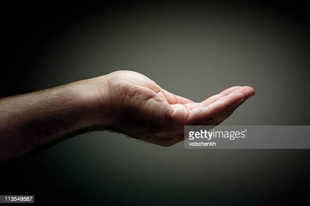 Betteln hand