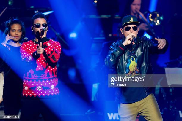 Beginner perform at at the 1Live Krone at Jahrhunderthalle on December 1 2016 in Bochum Germany