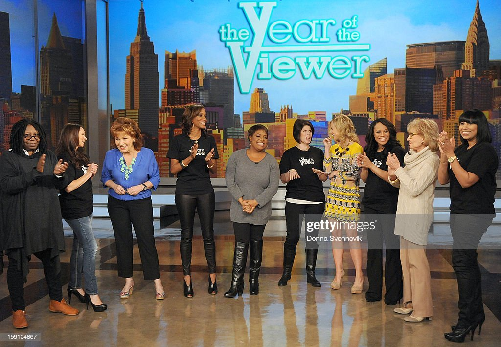"""THE VIEW - Beginning MONDAY, JANUARY 7, ABC's Emmy Award®-winning talk show """"The View"""" (11:00a.m. - 12:00 noon, ET) celebrates Y-O-U, the viewer. """"The Year of the Viewer"""" dedicates 2013 to viewers from coast to coast and around the globe with exciting opportunities to participate in the show, including makeovers from """"The View Crew,"""" the chance to ask guests questions submitted to the official Twitter of """"The View"""" (@theviewtv #asktheview), exclusive giveaways and """"Viewer Hot Topics."""" 'The View' airs Monday-Friday (11:00 am-12:00 pm, ET) on the ABC Television Network. ALLEN"""