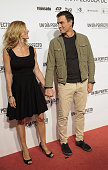 Begona Fernandez and Pedro Sanchez attend the 'A Perfect Day' Premiere at Palafox Cinema on August 25 2015 in Madrid Spain