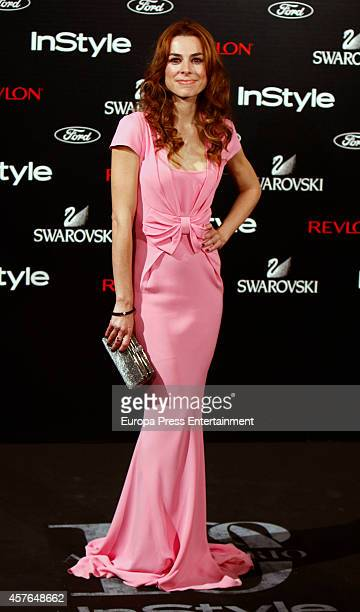 Begona Maestre attends the InStyle Magazine 10th anniversary party on October 21 2014 in Madrid Spain