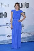 Begona Maestre attends the premiere of 'El Nino' at Kinepolis Cinema on August 28 2014 in Madrid Spain