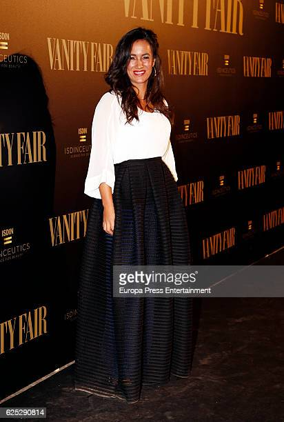Begona Villacis attend the gala dinner of Vanity Fair to commemorate its 100 number at Real Academia de Bellas Artes de San Fernando on November 22...