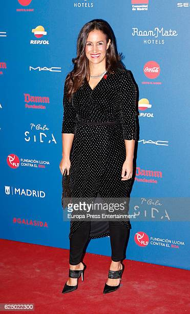 Begona Villacis attends 'Gala Sida' 2016 at Cibeles Palace on November 21 2016 in Madrid Spain