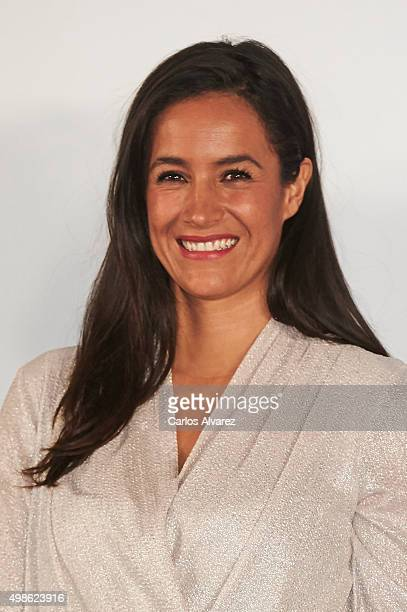 Begona Villacis attends the '20 Minutos' newspaper 15th anniversary at the Real Casa de Correos on November 24 2015 in Madrid Spain