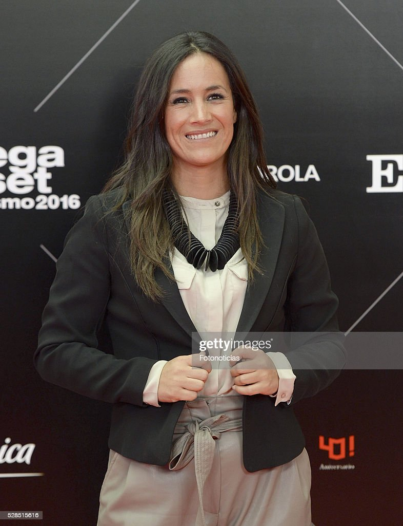 Begona Villacis attends the El Pais 40th anniversary dinner and 'Ortega y Gasset' awards ceremony at the Palacio de Cibeles on May 5, 2016 in Madrid, Spain.