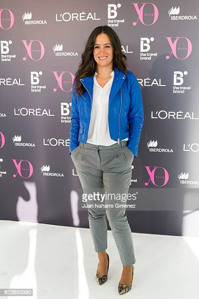 Begona Villacis attends the 'Poder Femenino' photocall at Espacio Building on November 17 2016 in Madrid Spain