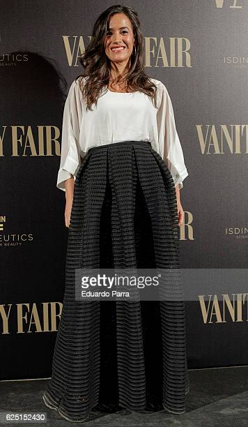 Begona Villacis attends the 'Vanity Fair number 100 party' photocall at Real Academia de Bellas Artes de San Fernando on November 22 2016 in Madrid...