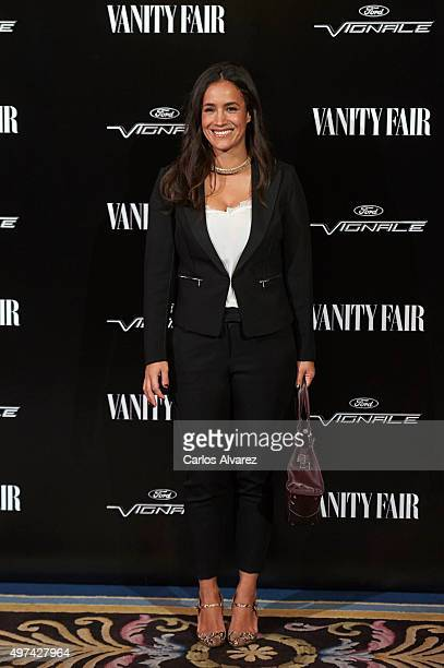 Begona Villacis attends the 'Vanity Fair Personality Of The Year' Gala at the Hotel Ritz on November 16 2015 in Madrid Spain