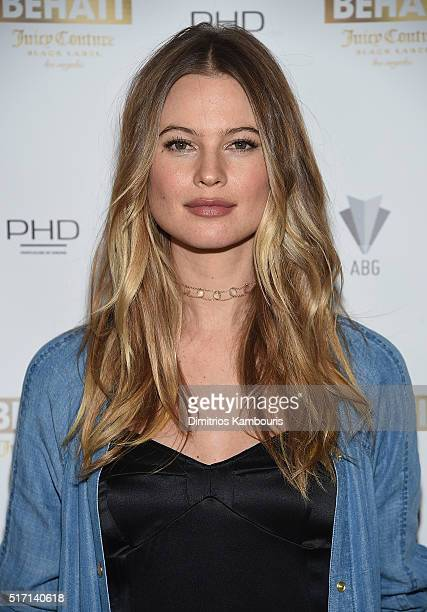 Behati Prinsloo attends as DuJour's Jason Binn hosts the launch of Behati X Juicy Couture at PHD at Dream Downtown on March 23 2016 in New York City
