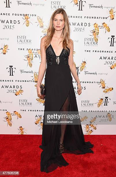 Behati Prinsloo attends the 2015 Fragrance Foundation Awards at Alice Tully Hall at Lincoln Center on June 17 2015 in New York City